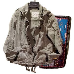 GARAGE Wmns Khaki Cargo Jacket (Size XS)